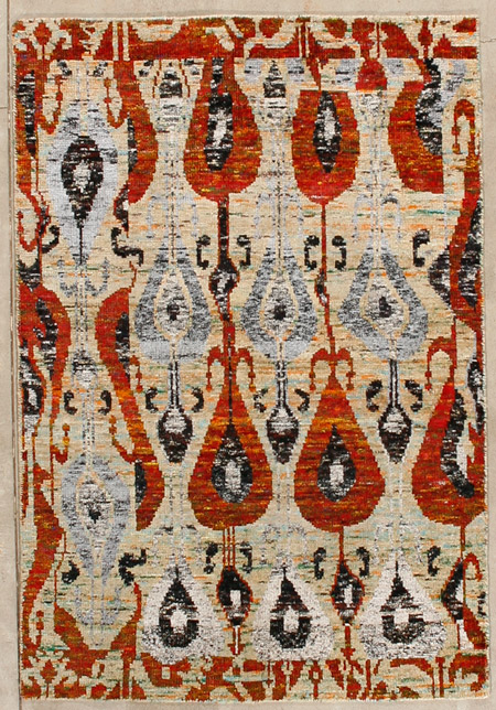 Ikat Carpet
